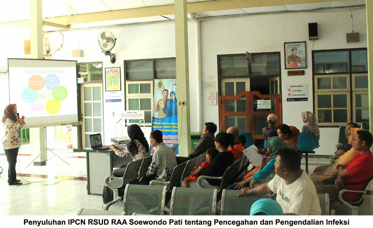 RSUD Soewondo Pati Gelar Penyuluhan Pencegahan dan Pengendalian Infeksi