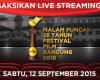 Ini Daftar Peraih Penghargaan Festival Film Bandung 2015_