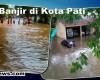 Diguyur Hujan Satu Jam, Kota Pati Digenangi Air