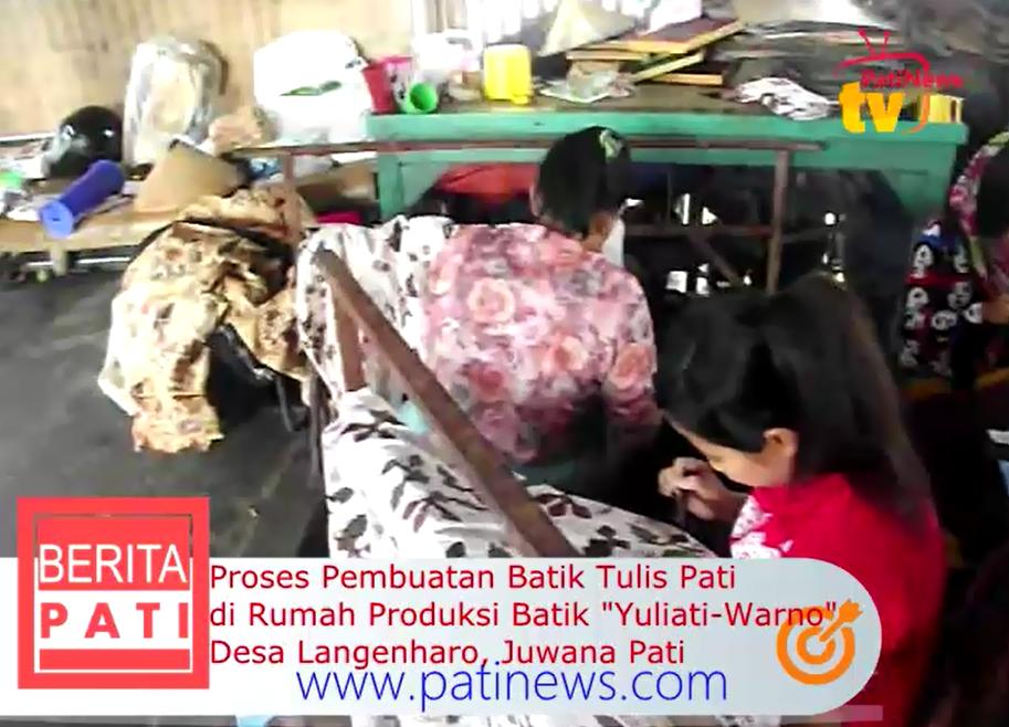 Proses Pembuatan Batik Tulis di Rumah Produksi Batik Yuliati Warno Juwana  Pati c49cf80bda