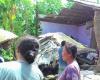 Akibat Pecah Ban, Sebuah Pick Up Seruduk Rumah di Dukuhseti