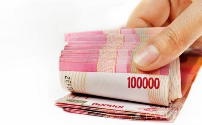 Ilustrasi gambar uang Rupiah