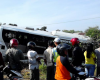 Kecelakaan di Pati Hari Ini, Bus Subur Jaya Nyungsep di Juwana