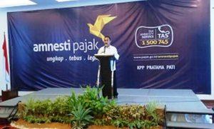 Bupati Pati Buka Sosialisasi Tax Amnesty