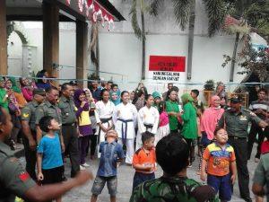 Gebyar HUT RI Ke 71 TNI Dengan Masyarakat