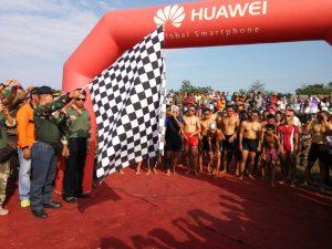 Komandan Kodim 0718 Pati Lepas Peserta Pati Triatlon 2016
