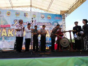 Wakil Bupati Budiyono Buka Event Bersama PAKUDJEMBARA