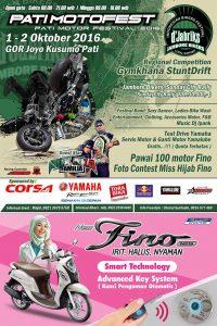 Pati Motor Festival 2016 Bakal Digelar Bulan Depan di Stadion Joyo Kusumo