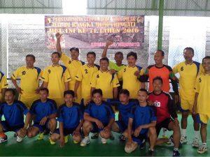 Turnamen Tiga Pilar Meriahkan HUT TNI ke-71