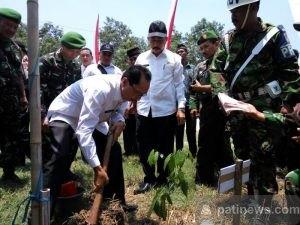 Bupati Resmikan Hasil TMMD Sengkuyung Tahap II di Desa Wotan Sukolilo Pati