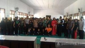 Dandim Pati Hadiri Kejurda Pencak Silat Pagar Nusa se Kabupaten Pati