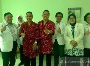 Pasangan Haryanto - Saiful Arifin Jalani Tes Kesehatan
