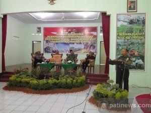 Seminar Kebangsaan Bangun Nasionalisme di Gelar di Makodim Pati