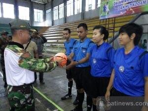 Turnamen Futsal Dandim Open Cup Tingkat Jateng Resmi Dibuka