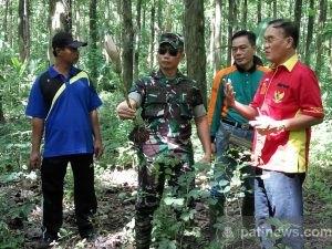 Dandim Pati dan Komunitas Gusdurian Tanam Bibit Porang di Tlogowungu