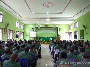 Kodim 0809/Kediri Jabarkan Arahan Panglima TNI
