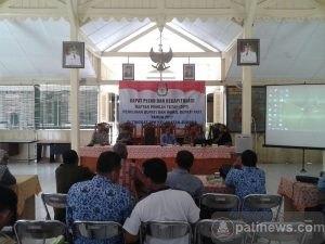 PPK Juwana Gelar Rekapitulasi DPT Pilkada Pati 2017