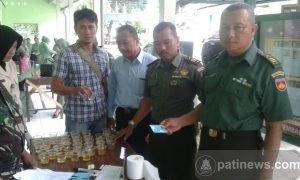 Cegah Penyalahgunaan Narkoba, Anggota Kodim Pati di Tes Urine