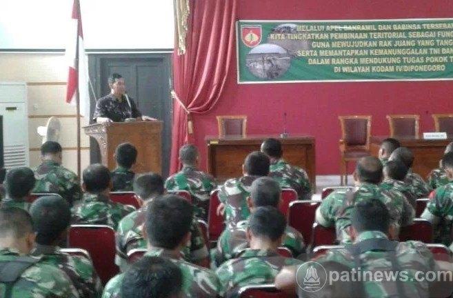 KPU Ajak Babinsa Sosialisasikan Pilkada Pati 2017
