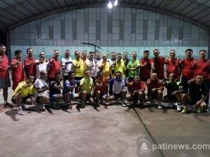 Kodim Pati Gelar Pertandingan Tenis Bersama Kodim 0722 Kudus