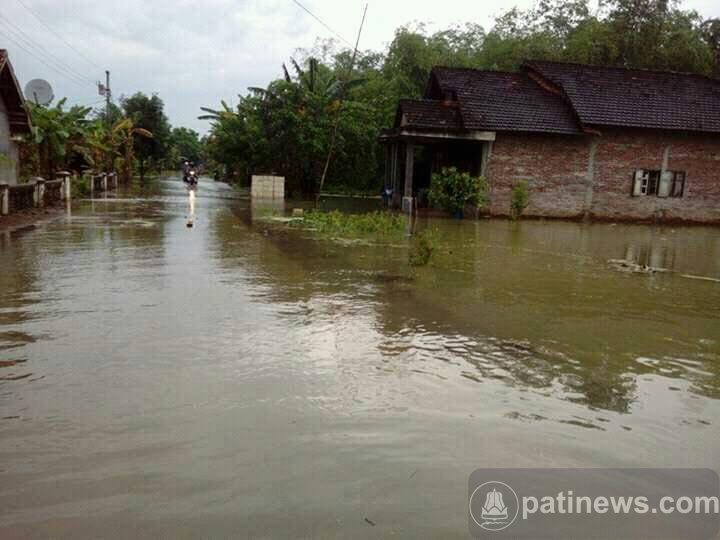 Banjir Makin Parah, Puluhan Rumah Di Kecamatan Jakenan Terendam