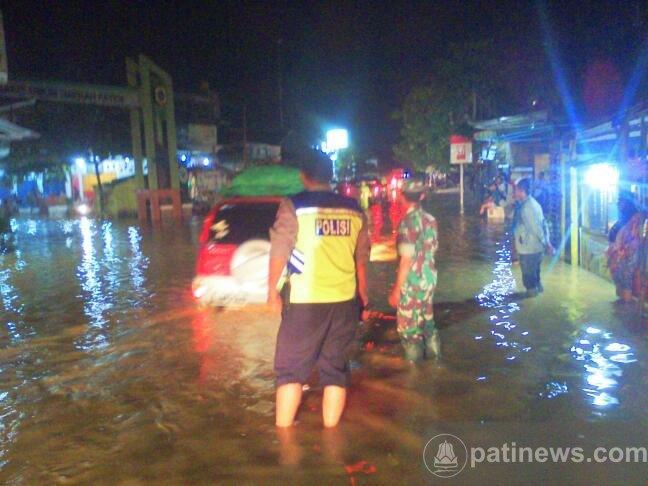 Banjir Bandang Terjang Enam Desa di Kecamatan Kayen