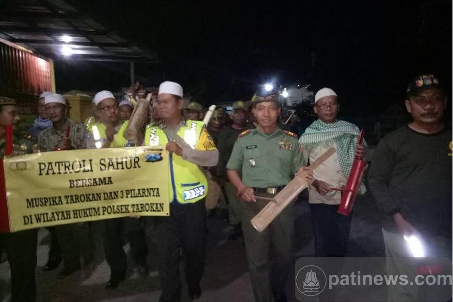 Patroli Sahur 3 Pilar Ramaikan Suasana Ramadhan