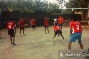 Peringati Hari Kemerdekaan Republik Indonesia, Desa Blingoh Gelar Tournament Bola Voly Antar RW