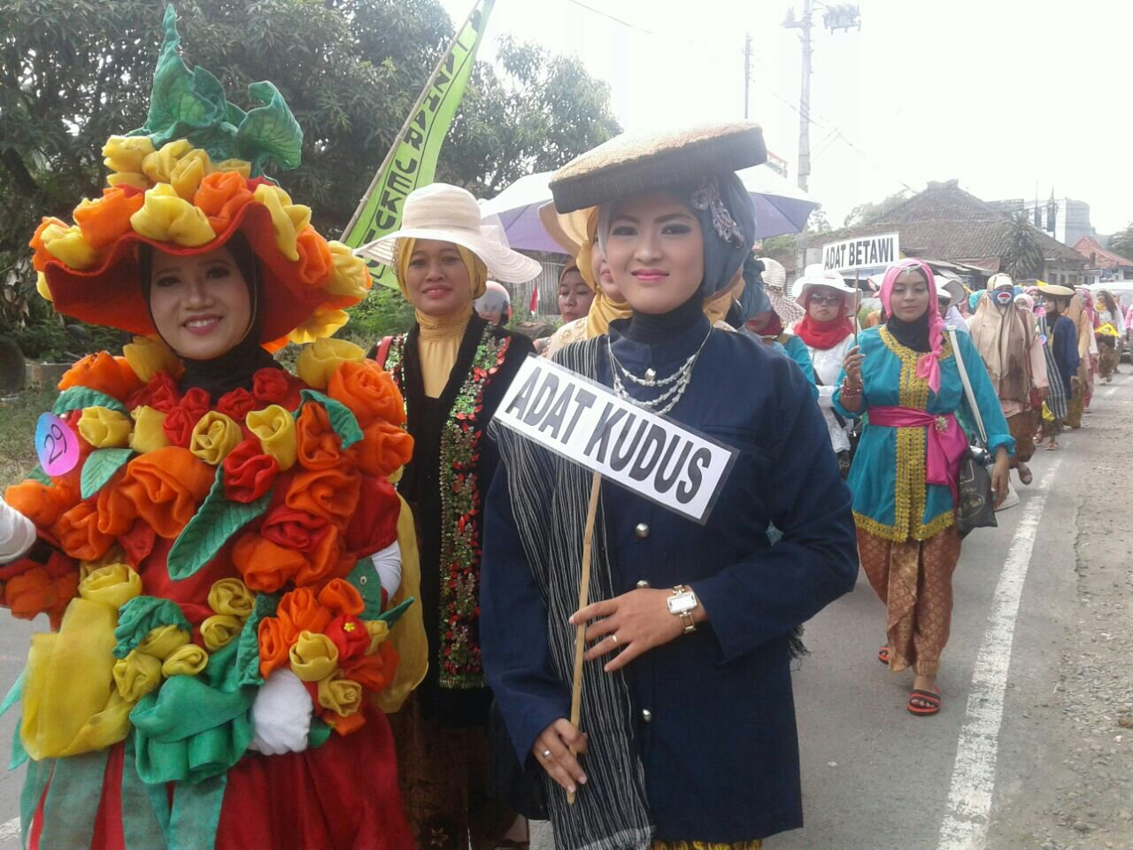 Himpaudi dan IGTKI Jekulo, Semarakkan Dirgahayu RI 72 Dengan Karnaval