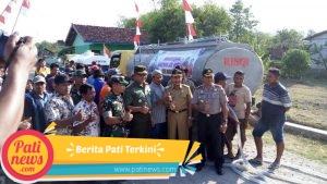 Tim Pusterad Tinjau Lokasi Penyaluran Air Bersih di Desa Ngastorejo Jakenan