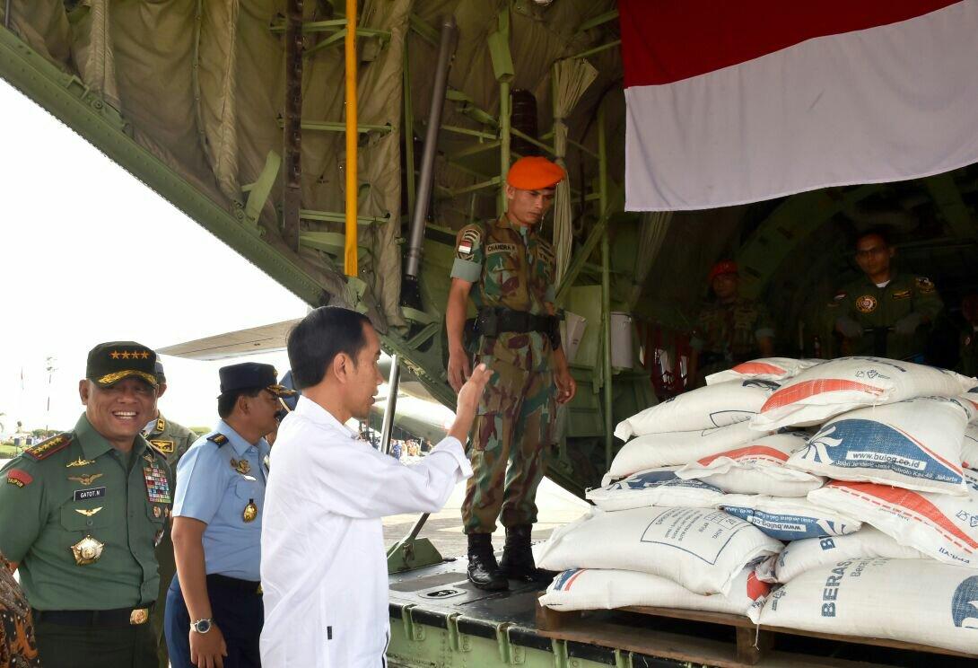 Presiden Jokowi Lepas Bantuan Kemanusiaan bagi Pengungsi Rakhine State Myanmar