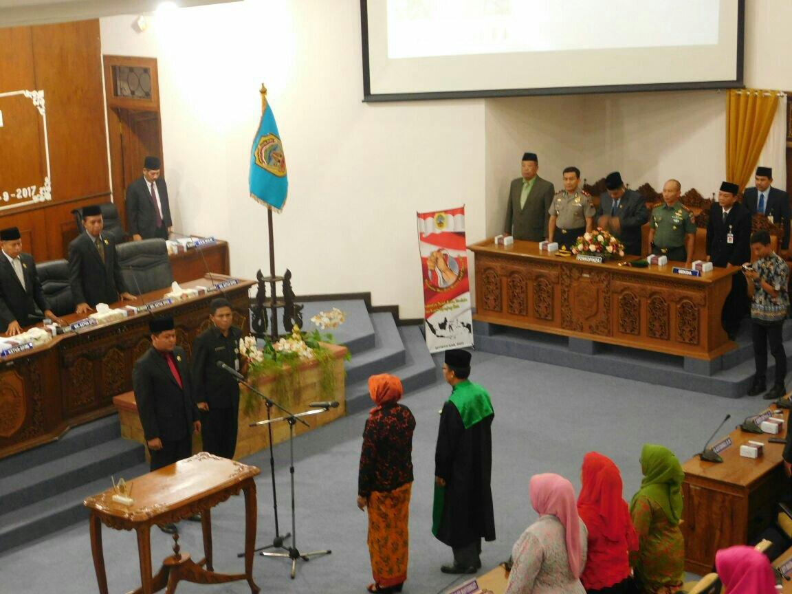 Pengganti Antar Waktu Anggota DPRD Pati Resmi Dilantik