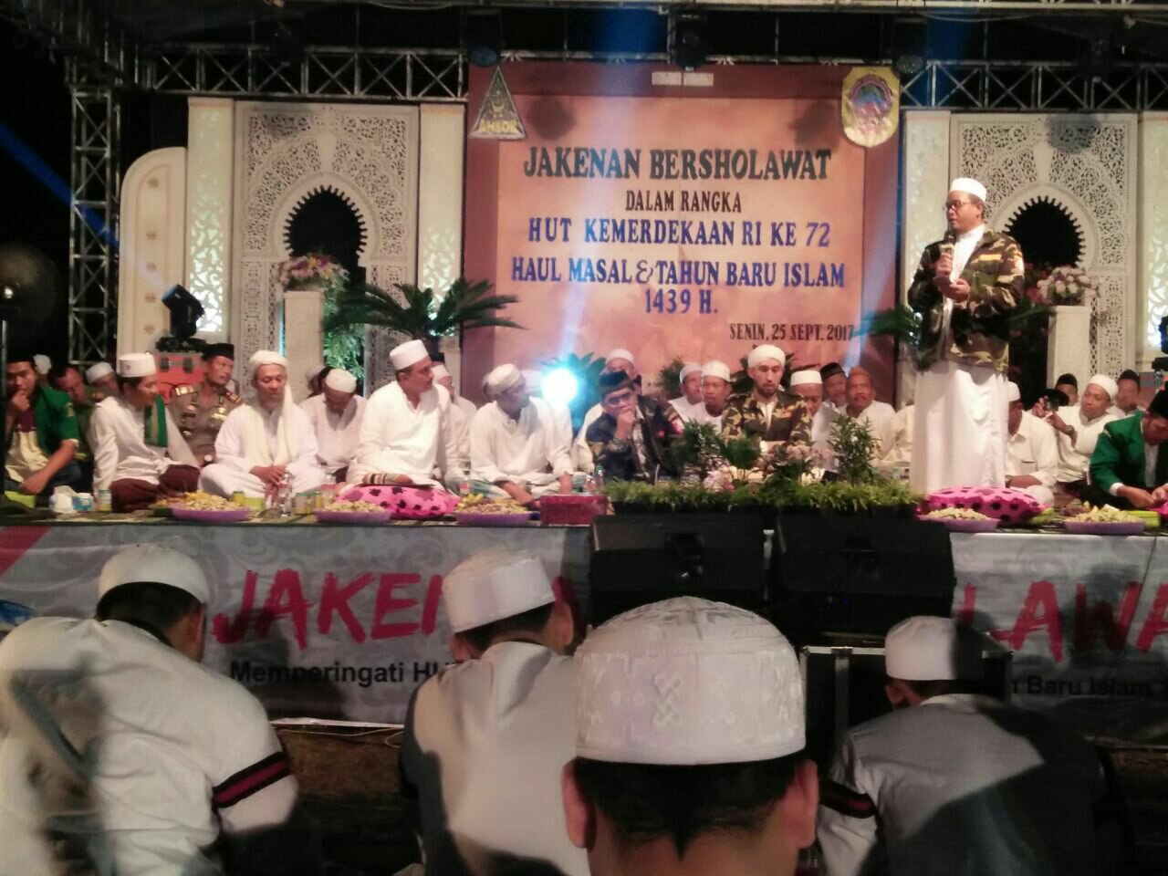 Jakenan Bersholawat Dalam Rangka Sambut Tahun Baru Islam 1439 Hijriah