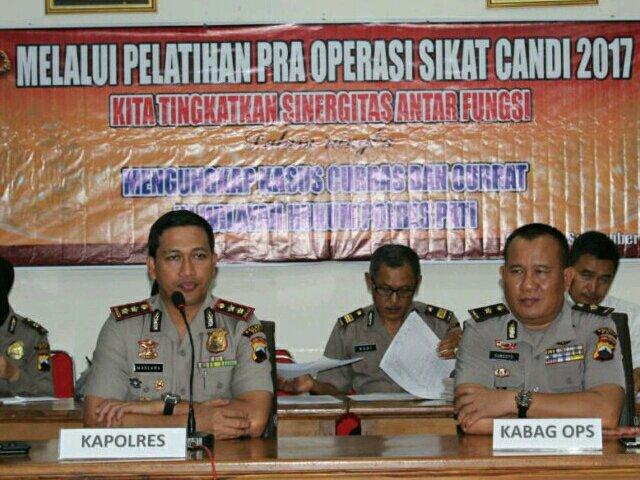 Ungkap Kasus Curas dan Curat, Polres Pati Bakal Gelar Operasi Sikat Candi 2017