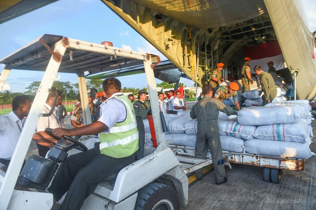 Bantuan Kemanusiaan Indonesia Untuk Rohingya Tiba di Bangladesh