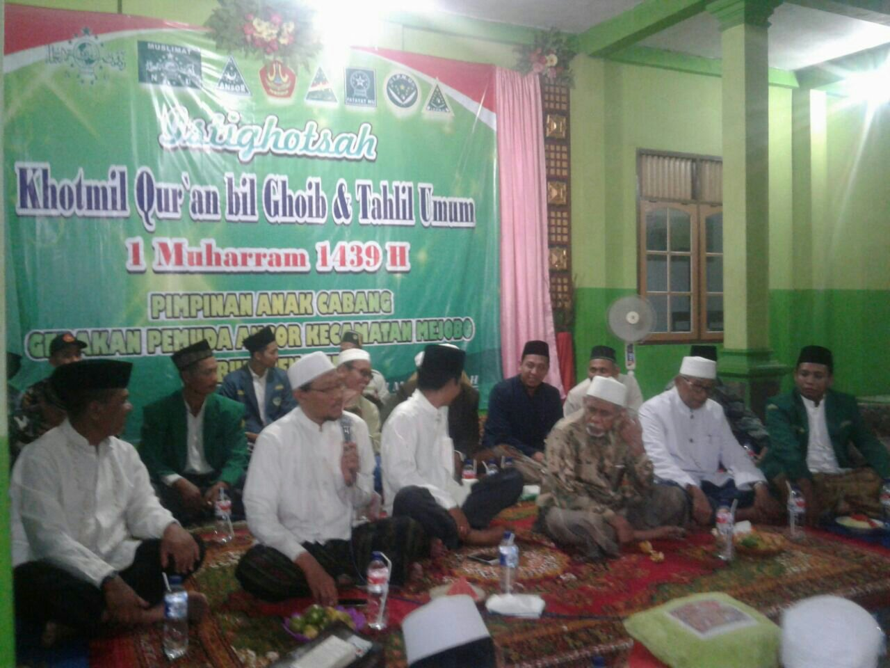 Tahun Baru Hijriyyah, PAC Ansor Mejobo Komitmen Jaga Kedaulatan Negeri