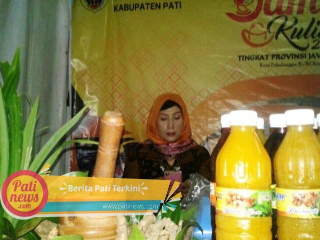 Dari Kopi Gembong Hingga Teh Daun kelor, Tampil di Ajang Festival Jamu and Culinary Nasional