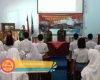 Dihadapan Pelajar SMAN 1 Pati, Danramil 01 Beri Wawasan Kebangsaan