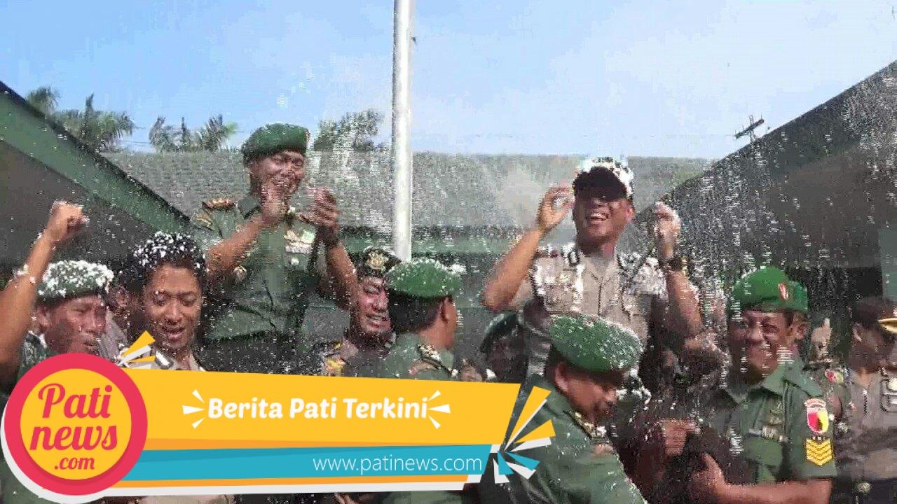 HUT TNI 72, Kodim 0809/Kediri Dapat Kejutan Dari Kapolres