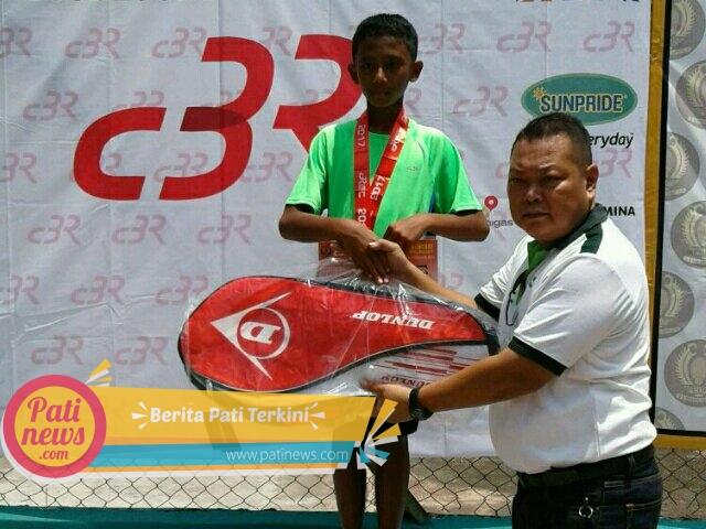 Putra Anggota Kodim Pati Ini, Jadi Andalan Atlet Tenis Lapangan Pati