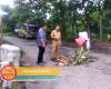 Dikeluhkan Warga, Bupati Haryanto Tinjau Langsung Jembatan Ambrol di Jakenan