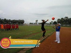 Kejuaraan Sepak Bola Bupati Cup U21, Resmi Dibuka Bupati Haryanto