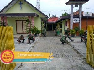 Jelang Natal, Gereja di Gabus Ini Tak Luput Dari Perhatian Anggota TNI