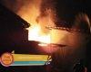 Kebakaran Dapur Cafe Marimar, Disebabkan Oleh Kebocoran Selang Gas