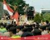 Ribuan Massa JMPPK, Geruduk Kantor Bupati Pati