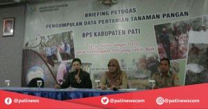 BPS Pati Tingkatkan Kualitas Data Pertanian Tanaman Pangan