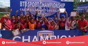 SMP 1 Kayen, Sabet Juara Satu Bola Voli Tingkat Kabupaten Pati