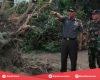 Dandim Kediri Tinjau Langsung Kondisi Terkini Pasca Bencana