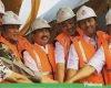 Jajaran Forkompinda Pati melakukan Groundbreaking Grand Sani Hotel dan Panjawi Pati Adventure Park