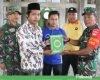 Peduli Masjid, Satgas TMMD Pati Beri Bantuan 30 Kitab Al-Qur'an